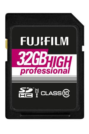 Fujifilm 32 GB SDHC HighProfessional C10 UHS-I Fujifilm Speicherkarte