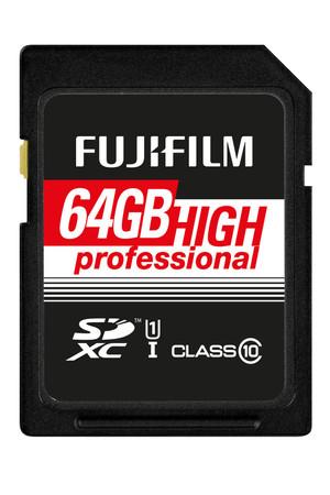 Fujifilm 64 GB SDHC HighProfessional C10 UHS-I Fujifilm Speicherkarte