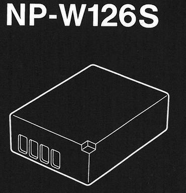"""Fujifilm NP W126 S Li-Ionen Akku Fuji  """"Neu"""""""