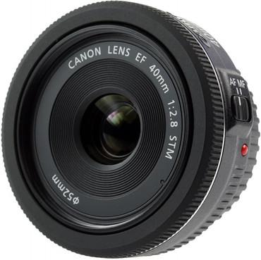 Canon EF 40 mm /1:2,8 STM Pancake-Objektiv