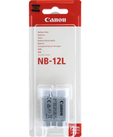 Canon NB-12L   Li-Ion Akku  1910 mAh