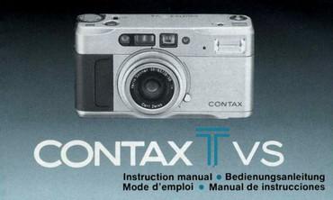 T VS Contax Bedienungsanleitung
