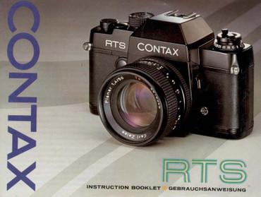 RTS Contax Bedienungsanleitung