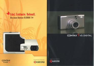 """Contax TVS Digital, Prospekt """"Original"""""""