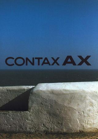 "Contax AX, Prospekt ""Original"","