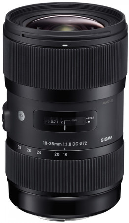 Sigma 18-35 mm / 1,8 DC Art HSM
