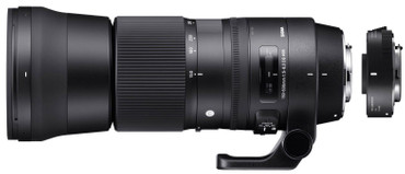 Sigma 150-600 mm / 5,0-6,3 DG OS HSM - C Contemporary SET mit Tele Konverter TC-1401