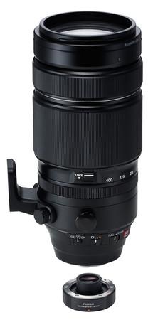Fujifilm XF-100-400 mm F 4,5-5,6 R LM OIS WR SET incl. Tele-Converter XF-1,4x TC WR