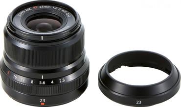 Fujifilm XF-23 mm F2,0 R WR Fujinon schwarz
