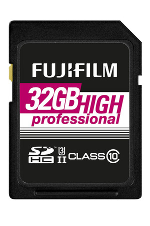 Fujifilm 32 GB SDHC HighProfessional C10 UHS-II Fujifilm Speicherkarte