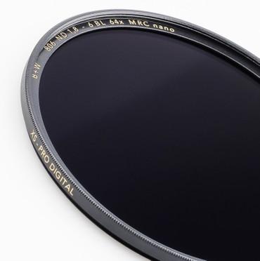 B+W Graufilter 806 ND 1,8  64x  46,0 mm   + 6 Blenden XS-Pro MRC Nano vergütet