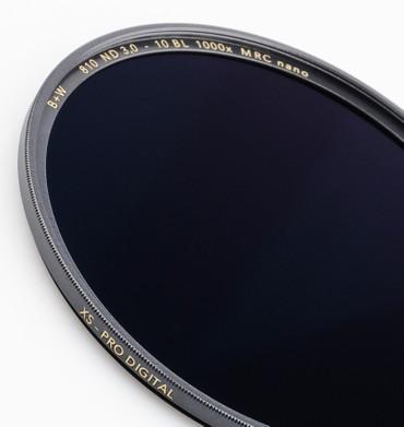 B+W Graufilter 810 ND 3,0 1000x  35,5 mm  +10 Blenden XS-Pro MRC Nano vergütet