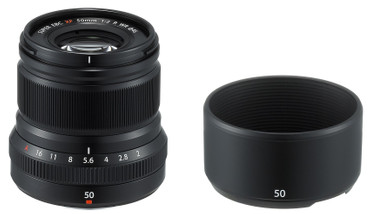 Fujifilm XF-50 mm F2,0 R WR schwarz Fujinon