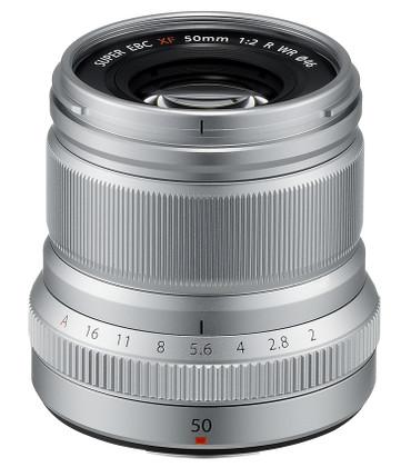Fujifilm XF-50 mm F2,0 R WR silber Fujinon