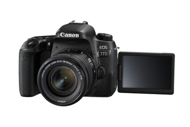 "Canon EOS 77D ""Kit"" mit Objektiv EF-S 18-55/4-5,6 IS ""STM"""