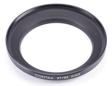 Contax Original Metall - Adapterring 67 - 86 mm