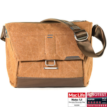 Peak Design Everyday Messenger Bag 13 Heritage Tan Fototasche