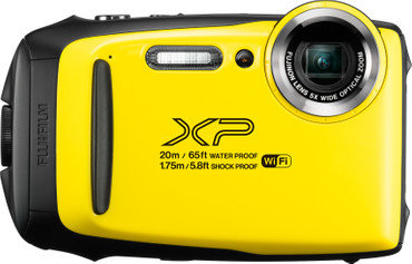 Fujifilm FinePix XP130 Yellow Outdoor Kamera