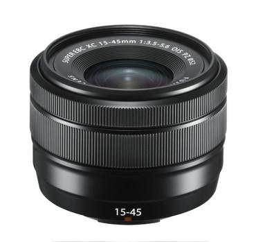 Fujifilm XC-15-45 mm F3.5-5.6 OIS PZ schwarz Fujinon