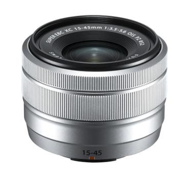 Fujifilm XC-15-45 mm F3.5-5.6 OIS PZ silber Fujinon