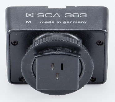 Metz SCA 363 Blitzadapter Flash Adapter für Ricoh, Gelegenheit