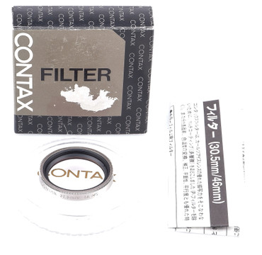 Contax Filter 30,5 mm 1A MC Skylight hellrosa 1X  für Contax T-VS / II, T-3, Gelegenheit