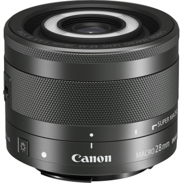 Canon EF-M 28 mm f/3.5 Makro IS STM
