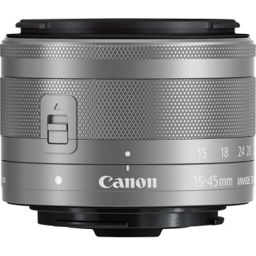 Canon EF-M 15-45 mm 1:3,5-6,3 IS STM silber