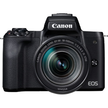 Canon EOS M50 KIT mit Objektiv EF-M 18-150 / 3,5-6,3 IS STM