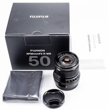 Fujifilm XF-50 mm F2,0 R WR schwarz Fujinon Gelegenheit