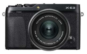 Fujifilm X-E3 KIT schwarz mit FUJINON XC 15-45 mm F3.5-5.6 OIS PZ