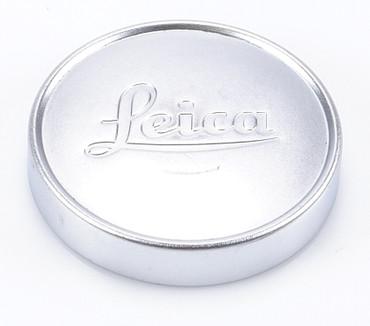 Leica Leitz Metall Objektivdeckel silber ca. 42,0 mm Innendurchmesser Gelegenheit