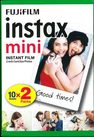 Fujifilm Instax Mini 2er Pack 2x10 Aufnahmen