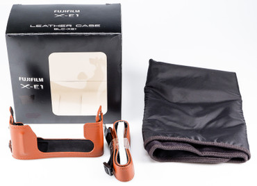 Fujifilm Leder Kameratasche braun BLC-XE1 für Fujifilm X-E1 X-E2 X-E2s  Gelegenheit