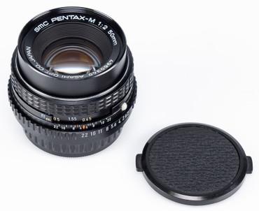 Pentax-M 2,0 / 50 mm SMC ASAHAI sehr guter Zustand Gelegenheit