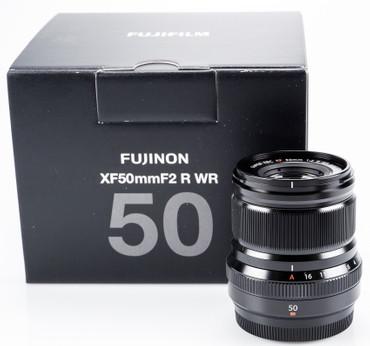 Fujifilm XF-50 mm F2,0 R WR schwarz Fujinon absolut neuwertig Gelegenheit