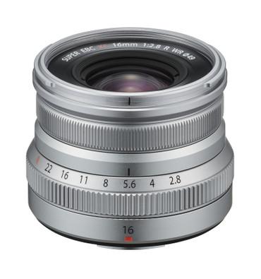 Fujifilm Fujinon XF 16 mm F2,8 R WR silber