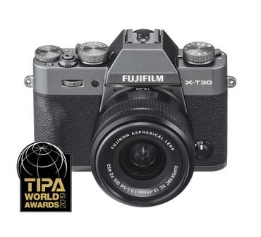 Fujifilm X-T30 mit FUJINON XC-15-45 mm F3.5-5.6 OIS PZ anthrazit