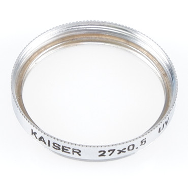 Kaiser UV Filter 27 mm 27x0,5 -0 sehr guter Zustand Gelegenheit