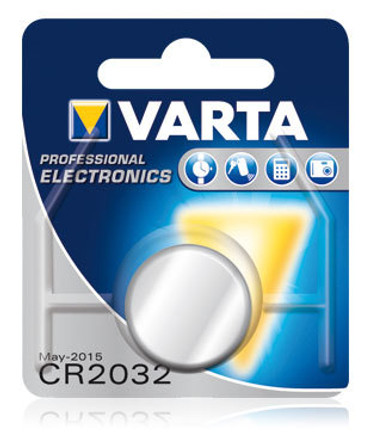 Varta Electronics CR 2032 Knopfzelle 3V Lithium