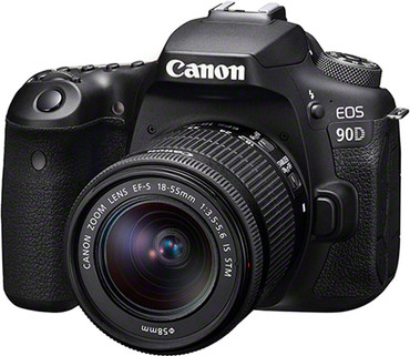 "Canon EOS-90D Kit mit Objektiv  EF-S 18-55/3,5-5,6 IS ""STM"""