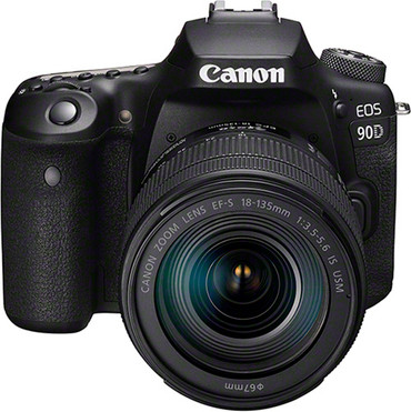 "Canon EOS-90D Kit mit Objektiv  EF-S 18-135/3,5-5,6 IS ""USM"""