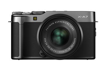 Fujifilm X-A7 KIT Dark silver mit FUJINON XC 15-45 mm F3.5-5.6 OIS PZ