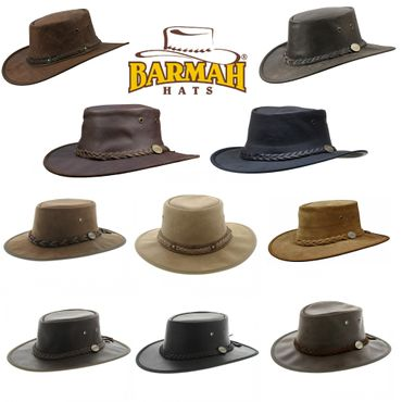 Barmah faltbarer Australien-Hut inkl. Barmah-Bag
