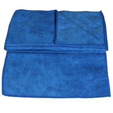 20 x Mikrofasertuch blau
