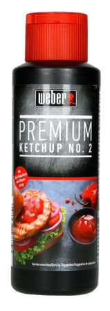 6er Set Weber Premium Ketchup No. 2 Grill Sauce Barbecue Spicy BBQ (6 x 300ml) – Bild 2