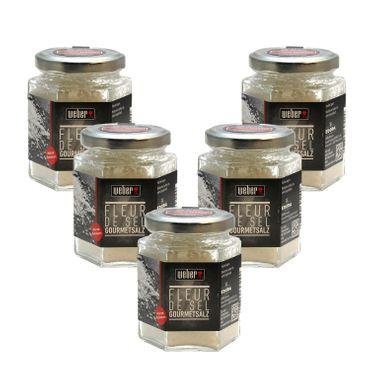 5x Weber Fleur de Sel Gourmet-Salz – Bild 1
