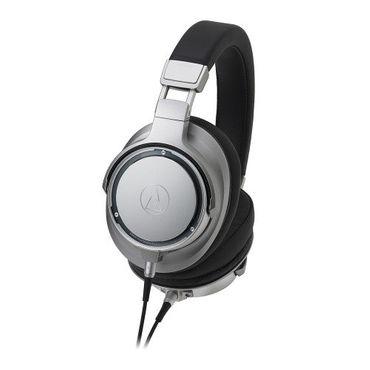 High-Resolution Over-Ear Kopfhörer Silber