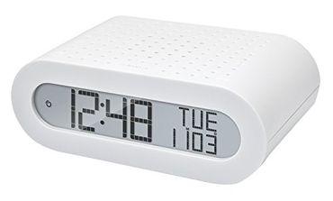 Uhr Wecker mit Radio weiß