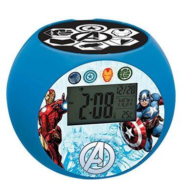 Lexibook RL975AV - Avengers Radio Wecker mit Projektion